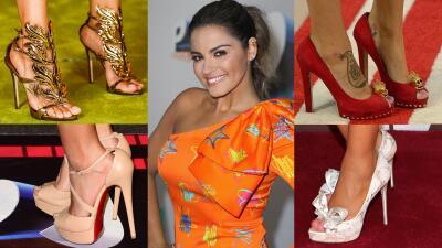 Mira sus pies:👇 estos son los zapatos más espectaculares de la alfombra