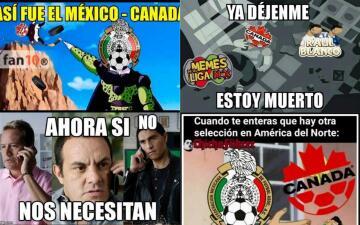 Memelogía: México le gana a Canadá y los usuarios andan bien y de buenas