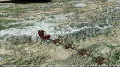 En vivo: Sigue la ruta de Santa Claus a través de NORAD