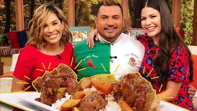 Esta receta de rabo encendido del chef Chile Mayor dejó a todos muy picados (pero con ganas de más)
