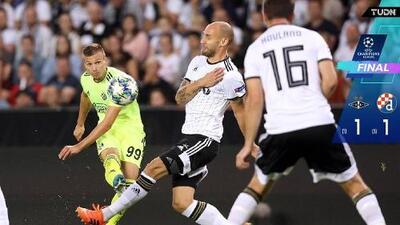 Dinamo deja en el camino a Rosenborg y sigue con vida en Champions League