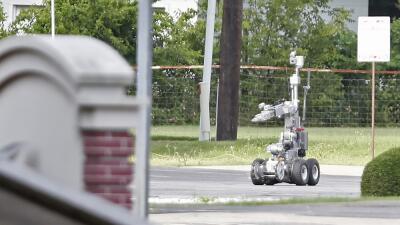 El robot que se inmoló en el tiroteo de Dallas