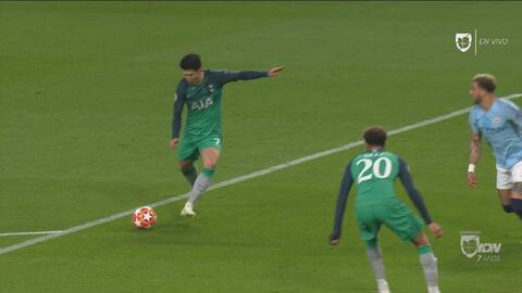 Sorpresa: Son marca por segunda vez y le da la ventaja al Tottenham