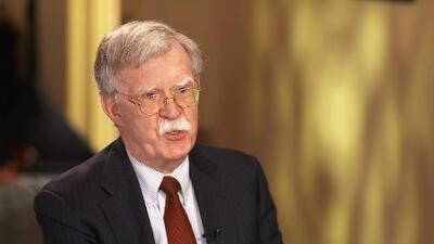 """Bolton: """"Los estadounidenses deberían poder recuperar lo que han perdido por las acciones del régimen de Castro"""""""