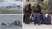 """""""Muchos se estaba ahogando"""": revelan detalles del rescate de indocumentados en la costa de San Diego"""