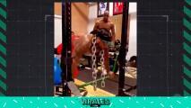 ¡Brutal! El entrenamiento de Derrick Henry con cadenas