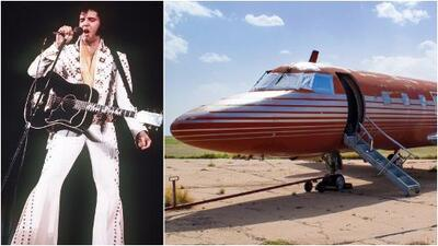 Jet privado de Elvis es vendido en subasta después de 35 años de abandono