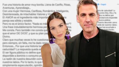 """""""I'm only human"""": Carlos Ponce da su versión sobre la ruptura con Karina Banda"""