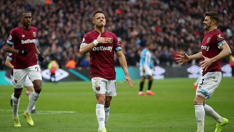 Layún elogia a 'Chicharito' tras su doblete con el West Ham
