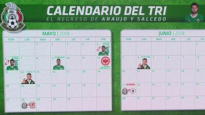 El Tri, a contrarreloj: calendario completo antes del Mundial