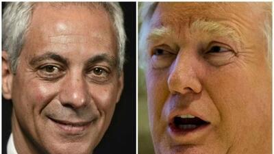 Rahm Emanuel se reunirá hoy con Donald Trump en Nueva York