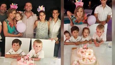 Así fue como Satcha Pretto celebró su cumpleaños 39: rodeada de sus seres queridos
