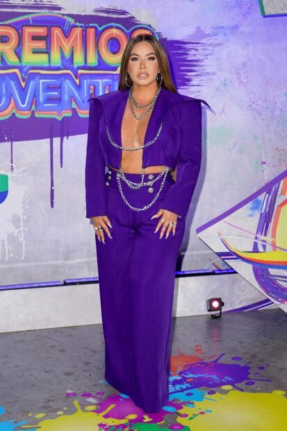 Fotos: así fueron las llegadas de los famosos a la alfombra de Premios Juventud