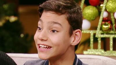 Adrián Martín rompió corazones y encantó con su voz en Teleton USA y en Despierta América