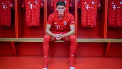 Benjamin Pavard fue presentado como nuevo jugador del Bayern Múnich