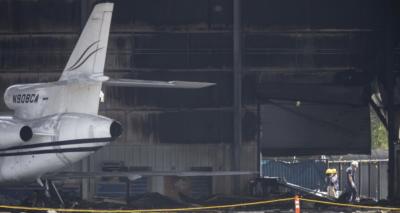 Nuevas fotos del accidente aéreo de Addison, Texas en el que fallecieron 10 personas