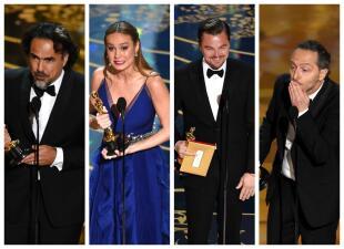 Aquí están todos los ganadores del Oscar 2016