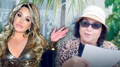 """""""Está cachondita"""": así reaccionó la mamá de Jenni Rivera al leer la nueva canción de Chiquis"""