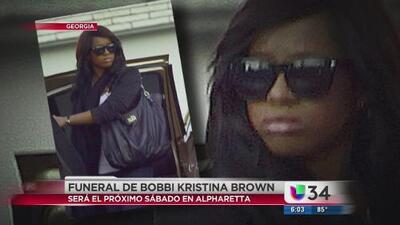 Todo listo para el funeral de Bobbi Kristina