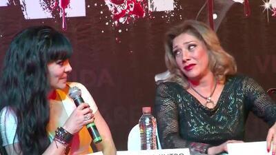 Tremenda bronca la que sea armó entre Cynthia Klitbo, Ninel Conde y Maribel Guardia en plena conferencia de prensa