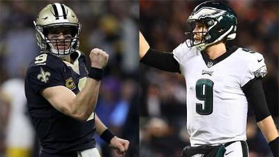 ¿La tercera es la vencida? Eagles buscan acabar la hegemonía de Saints en Playoffs