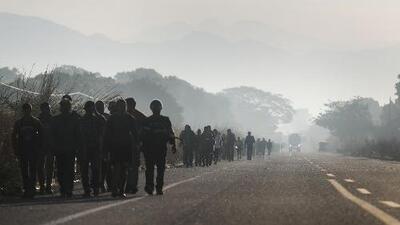 Huyen de su patria para dejar atrás una vida marcada por la miseria: la historia de familias migrantes en Centroamérica