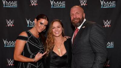 Ronda Rousey y su debut en la WWE: de patadas y codazos a pleitos de guion