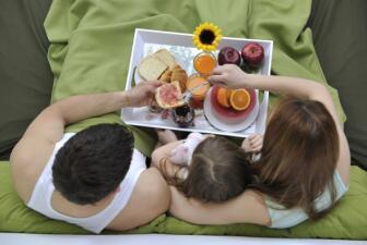 Un rico desayuno para mamá