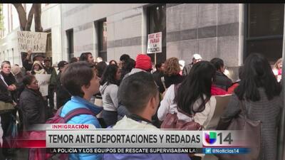Temor ante deportaciones y redadas