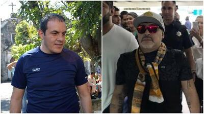Cuauhtémoc Blanco opinó (como todo un político) sobre la llegada de Maradona a Dorados de Sinaloa