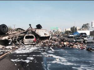 En fotos: los peores  accidentes de transporte de 2016 en California