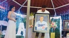 Víctor González recibió una gran sorpresa el día de su boda