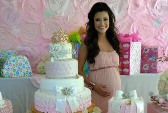 En fotos: recordamos el Baby Shower de Ana Patricia (todo rosa y en espera de Giulietta)