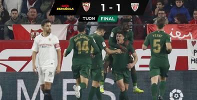 Sevilla no puede en casa con un férreo Bilbao