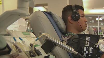 Desde hace tres años, este joven mantiene su compromiso de donar sangre anualmente