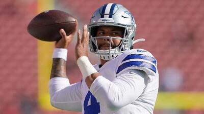 Dak Prescott rechaza extensión de contrato con los Dallas Cowboys