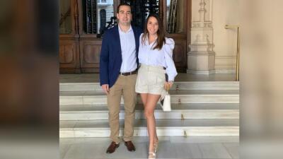 Julián Gil hizo falta en la boda civil de su hija mayor, Nicolle