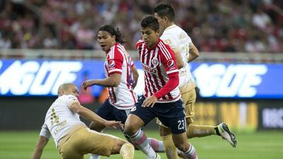 Pumas ganó a Chivas 1-0, mira el juego en vivo