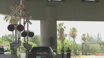 Muere un hombre tras ser impactado por un tren en el sur de Florida