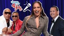 Jennifer Lopez celebra el 4 de julio cantando 'karaoke' en español (con A. Rod)