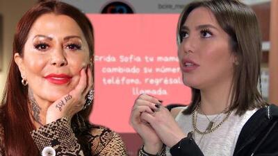 Representante de Alejandra Guzmán le dice a Frida Sofía que su mamá no ha cambiado de número para que la llame
