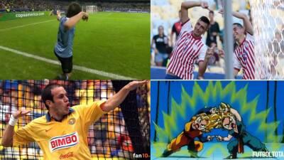 La celebración a lo Cuauhtémoc de Cavani, la 'fusión' de Paraguay y más burlas en la Copa América