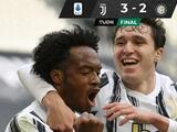 Juventus consigue triunfo agónico sobre Inter y sigue peleando boleto a Champions