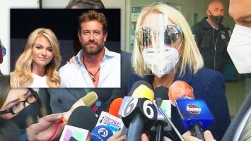 Laura Bozzo acude a los tribunales para responder a la demanda de Gabriel Soto e Irina Baeva