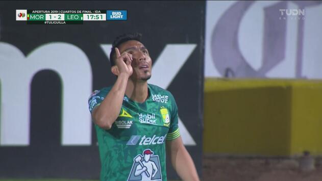 ¡No dan tiempo ni de respirar! León se vuelve a ir al frente 1-2 con gol de Ángel Mena