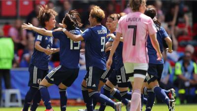 En fotos: Japón logró su primer triunfo en el Mundial Femenino al vencer a Escocia