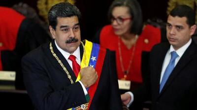 """Nicolás Maduro acusa a Trump de impulsar """"un golpe de Estado"""" contra Venezuela"""