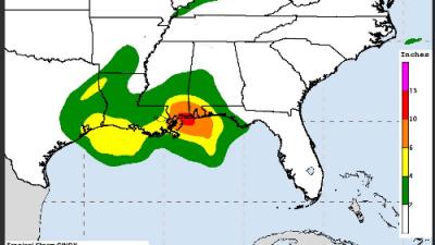 Tormenta tropical Cindy amenaza con peligrosas inundaciones desde Texas hasta Florida