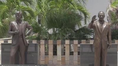 Boricuas reaccionan ante posible estatua de Trump frente al capitolio