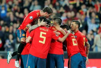 En fotos: España sufrió más de lo esperado para superar a Noruega en Mestalla
